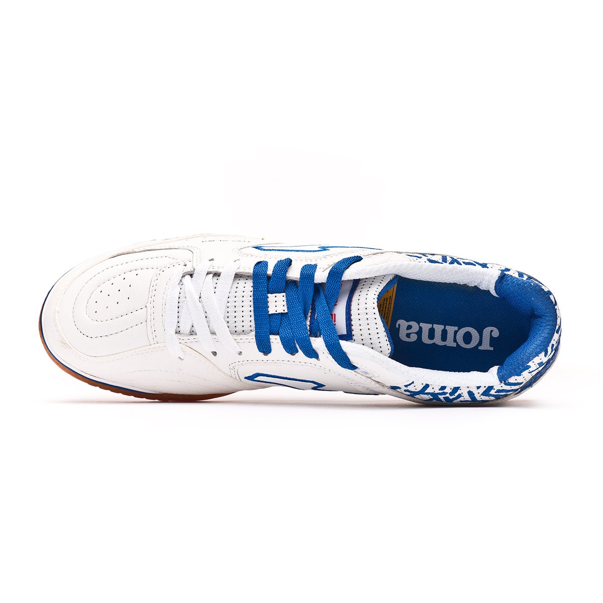 5c76a4399 Futsal Boot Joma Top Flex White-Blue - Football store Fútbol Emotion