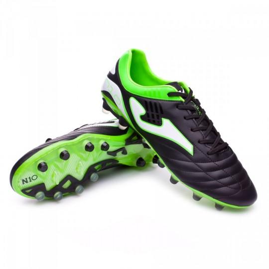 Bota  Joma Nº10 Pro FG Negro-Verde