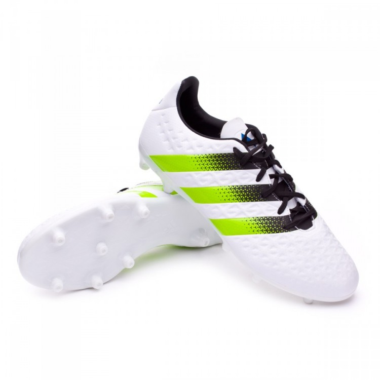 uk availability ccac6 db491 bota-adidas-ace-16.3-fgag-white-semi-solar-