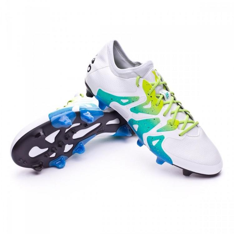 bota-adidas-x-15.1-fgag-crystal-white-core-