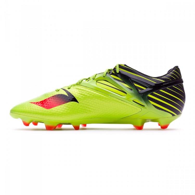 Bota de fútbol adidas Messi 15.1 FG AG Semi solar slime-Solar red ... 91c5cf53093c7