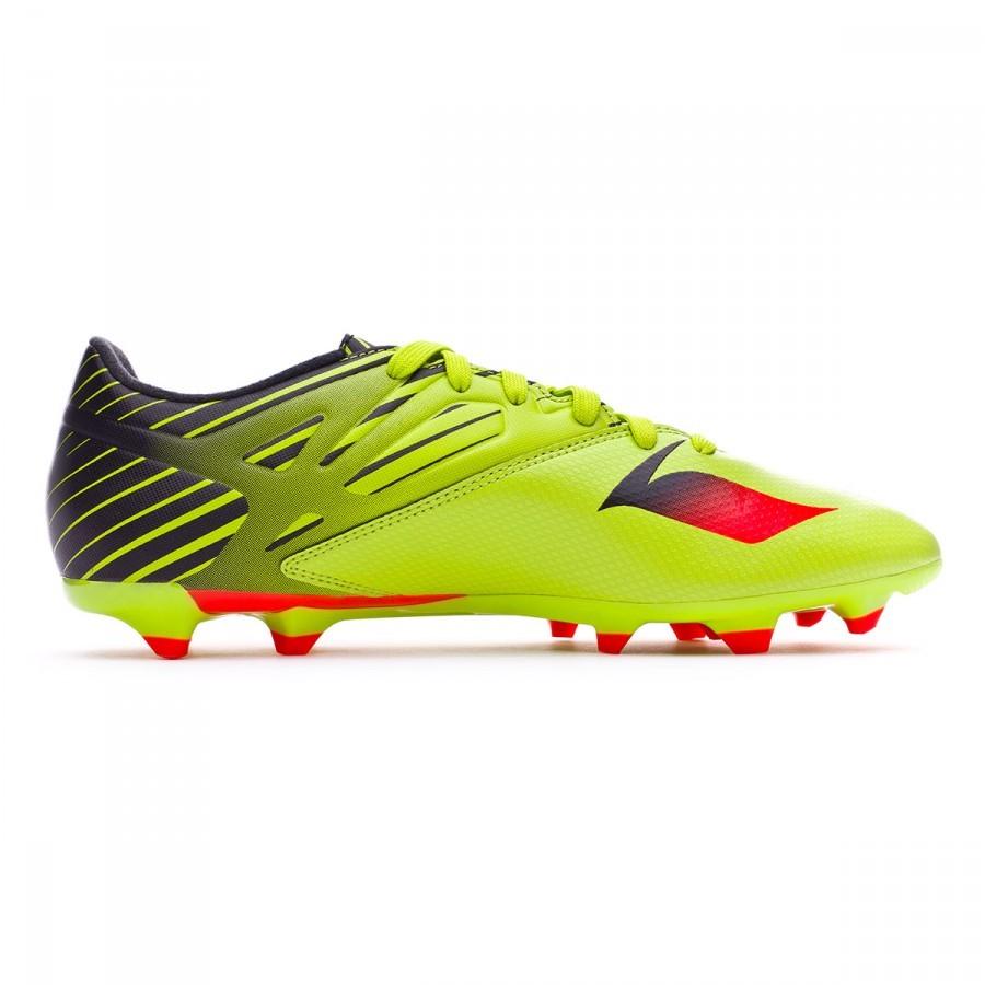 low priced 7b0cf 6eba2 ... Bota de fútbol adidas Messi 15.3 FGAG Semi solar slime-Solar red-Core  black ...