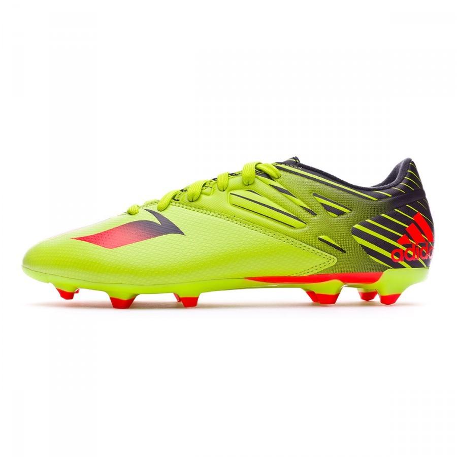 the latest fa09e af7f9 Bota de fútbol adidas Messi 15.3 FG AG Semi solar slime-Solar red-Core black  - Soloporteros es ahora Fútbol Emotion