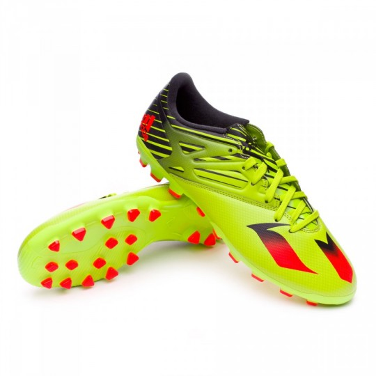 Chaussure  adidas Messi 15.3 AG Semi solar slime-Solar red-Core black