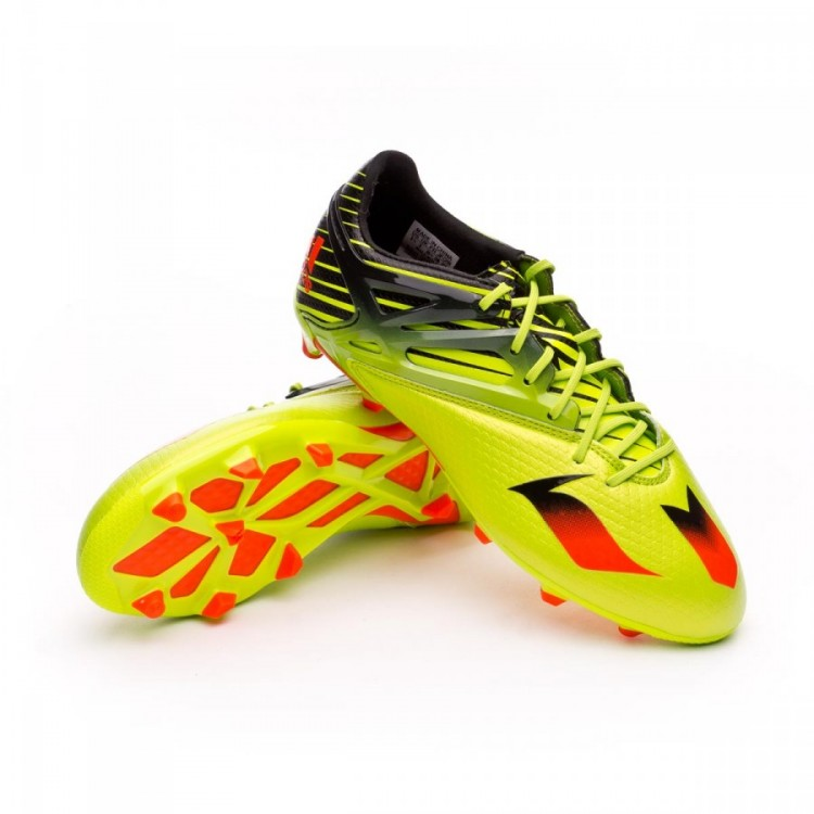cce4d2286 Football Boots adidas Kids Messi 15.1 Semi solar slime-Solar red ...