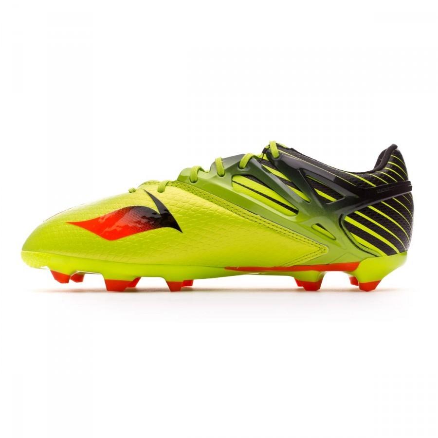 purchase cheap 79508 936e3 Boot adidas Kids Messi 15.1 Semi solar slime-Solar red-Core black -  Soloporteros es ahora Fútbol Emotion