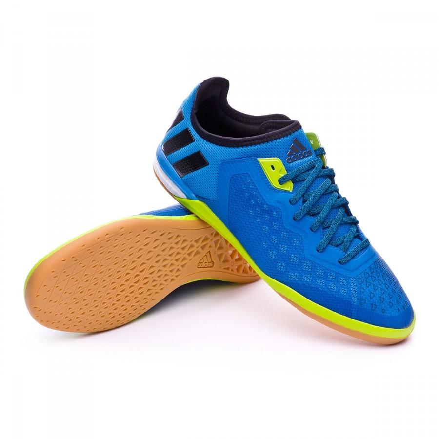 Zapatilla adidas Ace 16.1 CT Shock blue-Semi solar slime-White ... b794373db116d