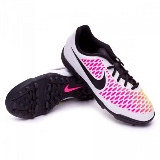 Bota  Nike jr Magista Ola TF White-Pink blast-Volt