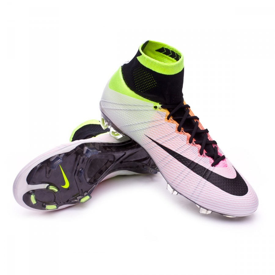 6786467a6 Football Boots Nike Mercurial Superfly ACC FG White-Volt-Total ...