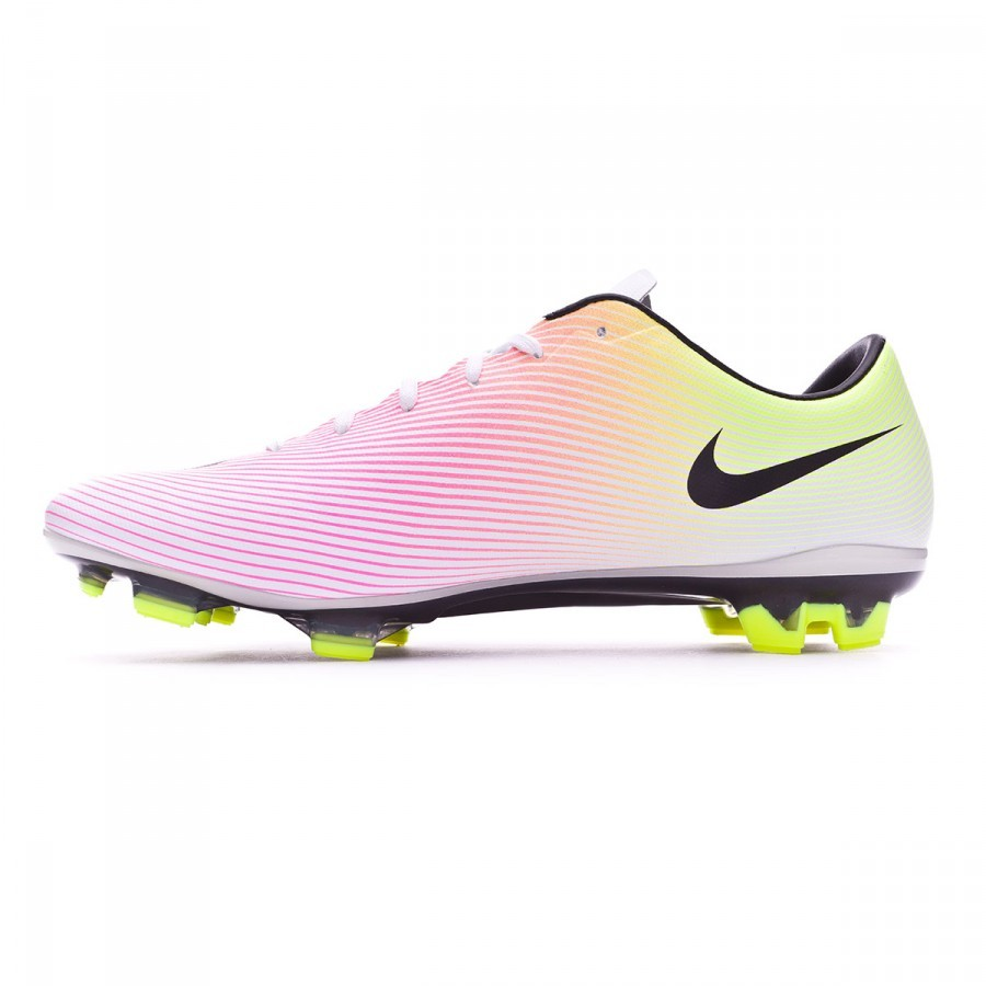 Boot Nike Mercurial Veloce II FG White-Volt-Total orange - Soloporteros es  ahora Fútbol Emotion e40d5aebb