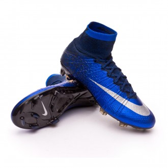 Mercurial Superfly CR ACC FG Royal blue-Metallic silver-Black