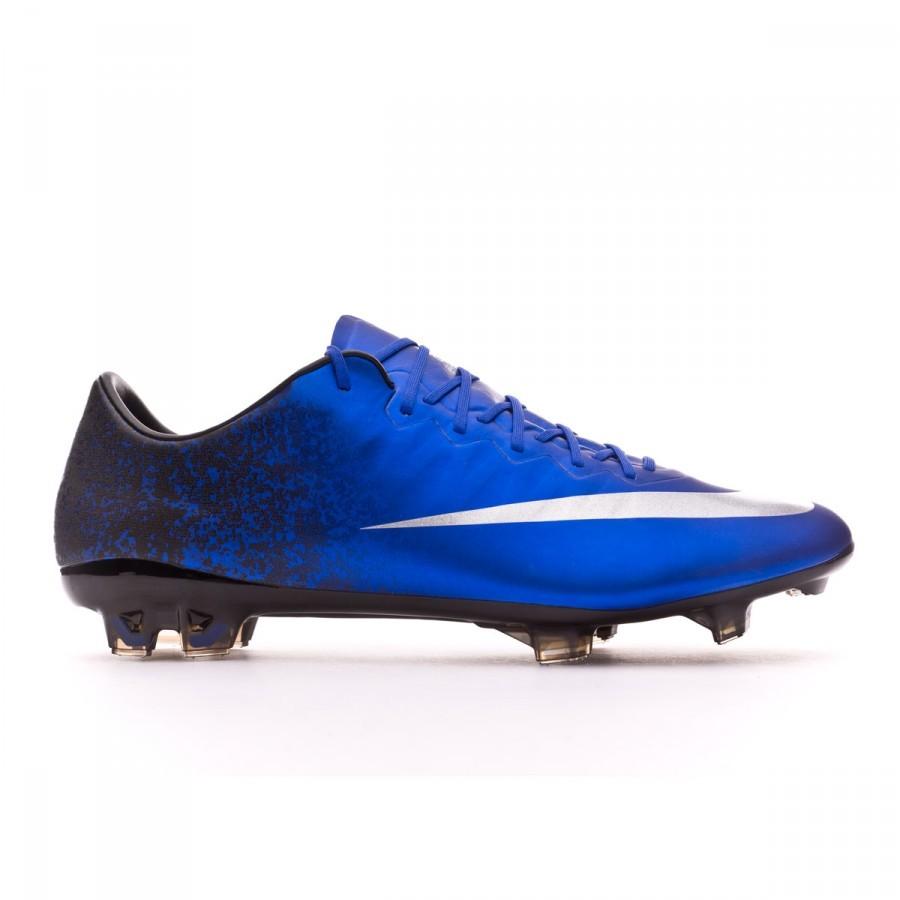 84109eee0 Football Boots Nike Mercurial Vapor X CR ACC FG Royal blue-Metallic  silver-Black - Football store Fútbol Emotion