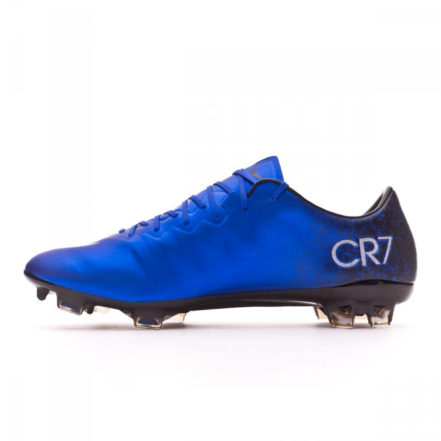 48fac0954 Football Boots Nike Mercurial Vapor X CR ACC FG Royal blue-Metallic  silver-Black - Football store Fútbol Emotion