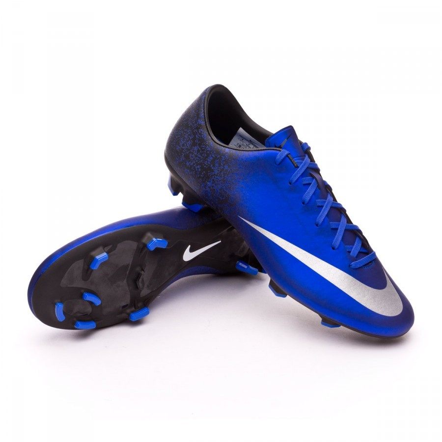 ... Bota Mercurial Victory V CR FG Royal blue-Metallic silver-Black.  CATEGORIA. Chuteiras de futebol · Nike a40188df27c37