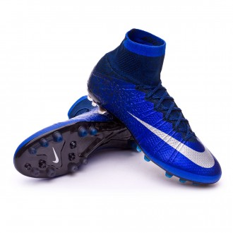 Mercurial Superfly CR ACC AG-R Royal blue-Metallic silver-Black
