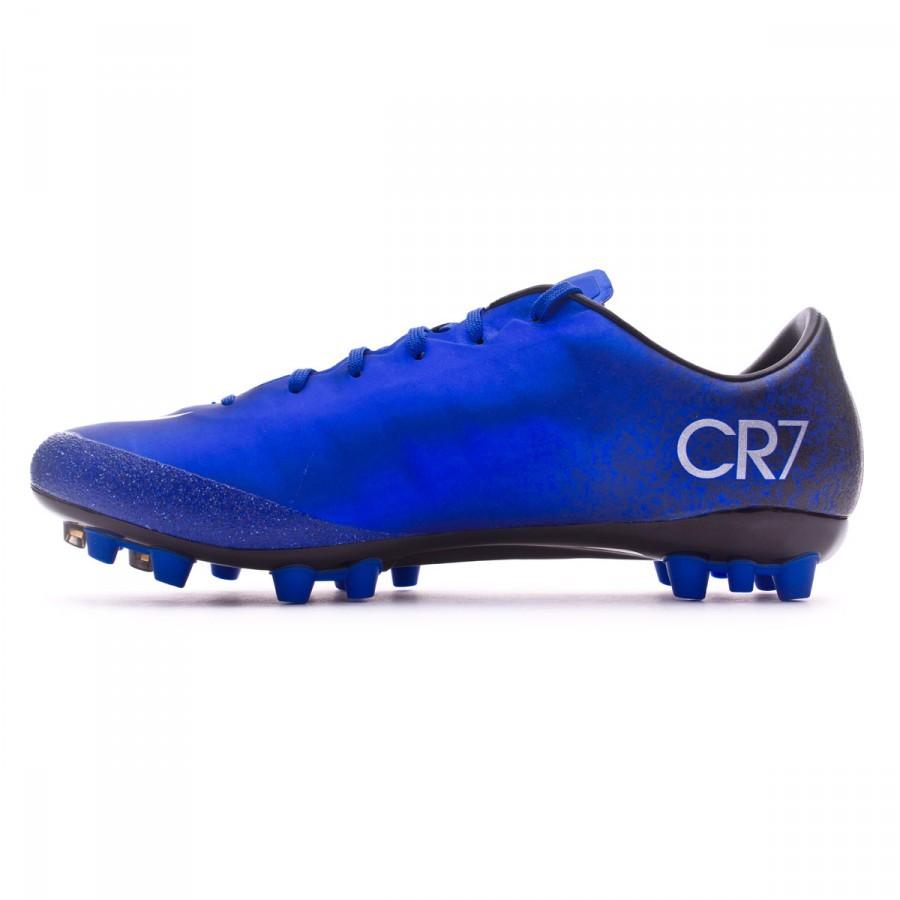 abed9f98a9ba Football Boots Nike Mercurial Veloce II CR AG-R Royal blue-Metallic  silver-Black - Football store Fútbol Emotion