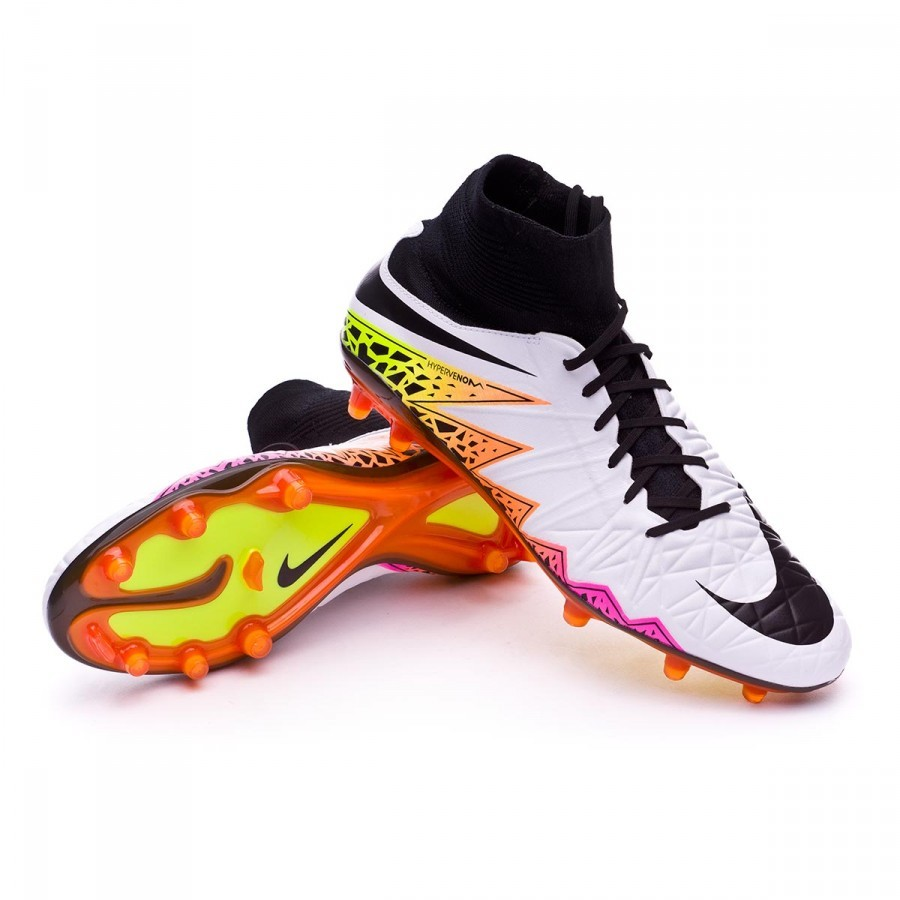 fe1fa2d71 Football Boots Nike HyperVenom Phatal II Dynamic Fit FG White-Total ...