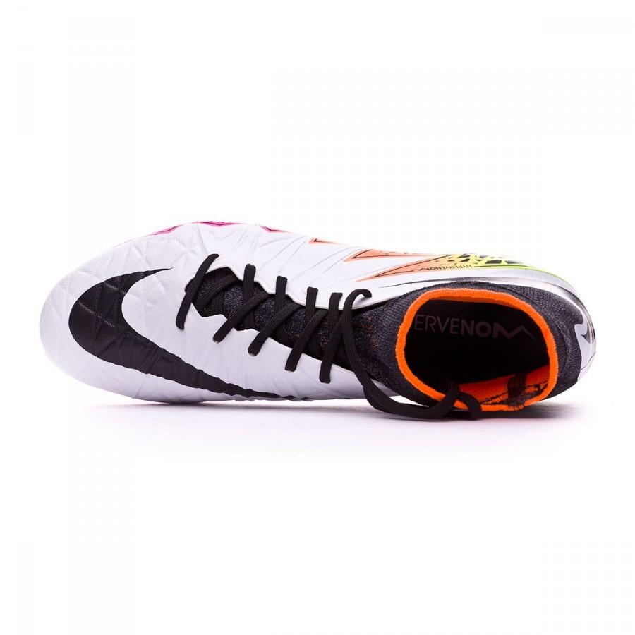 438695d8298c Football Boots Nike HyperVenom Phantom II ACC SG-PRO White-Total orange-Volt  - Tienda de fútbol Fútbol Emotion