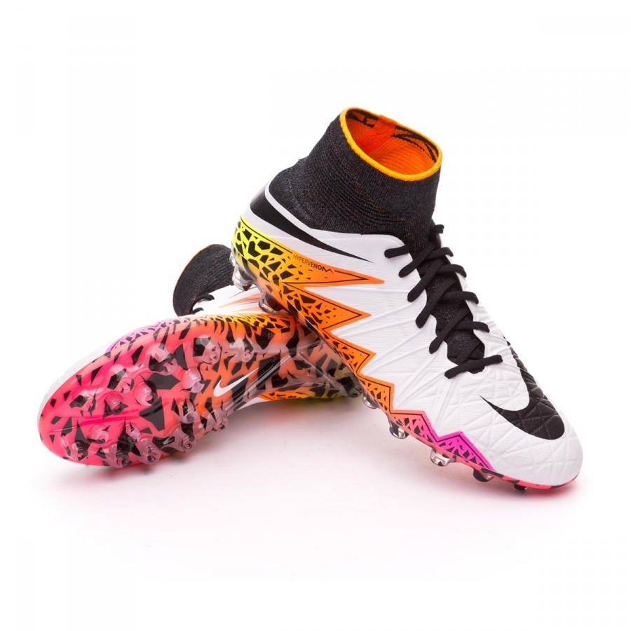 7b232806dd65 Football Boots Nike HyperVenom Phantom II ACC AG-R White-Total ...