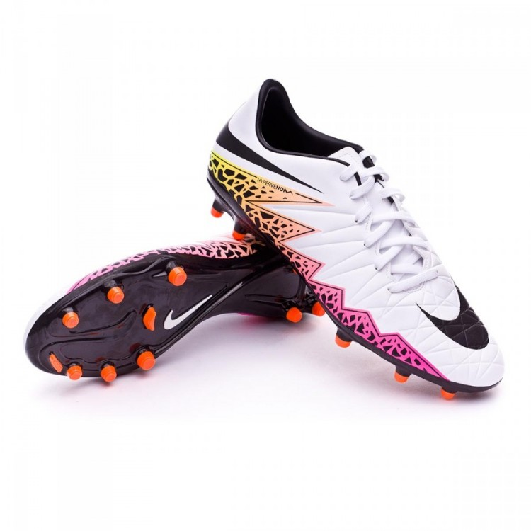 official photos c2ccb 3efe6 bota-nike-hypervenom-phelon-ii-fg-white-total-