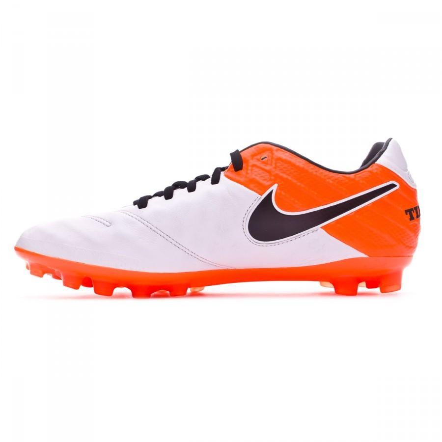 Scarpe Nike Tiempo Legacy II AG-R White-Total orange - Negozio di calcio  Fútbol Emotion 6e7247672ba