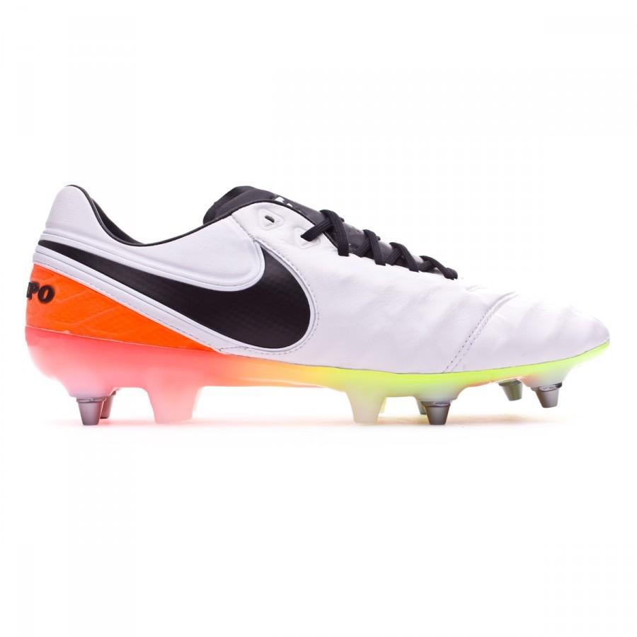 Bota de fútbol Nike Tiempo Legend 6 ACC SG-PRO White-Total orange-Volt -  Leaked soccer 8446bc2e801e8