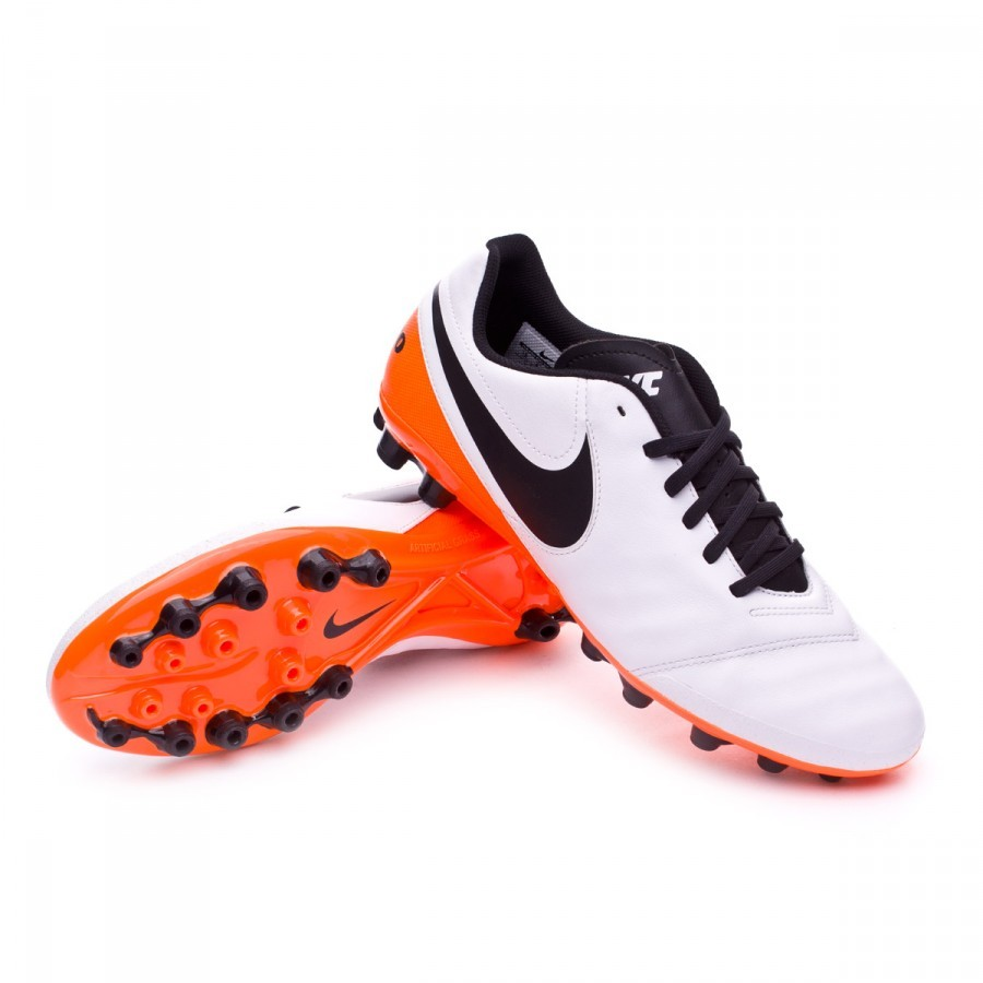 new product f64fd 4c0be nike tiempo red orange