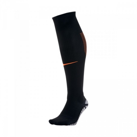 Meias  Nike Grip Strike OTC Black-Total orange