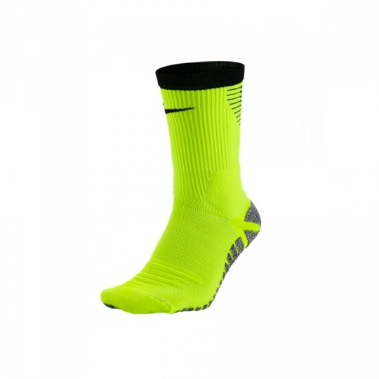 Calcetines  Nike GRIP Strike Crew Football Volt-Black