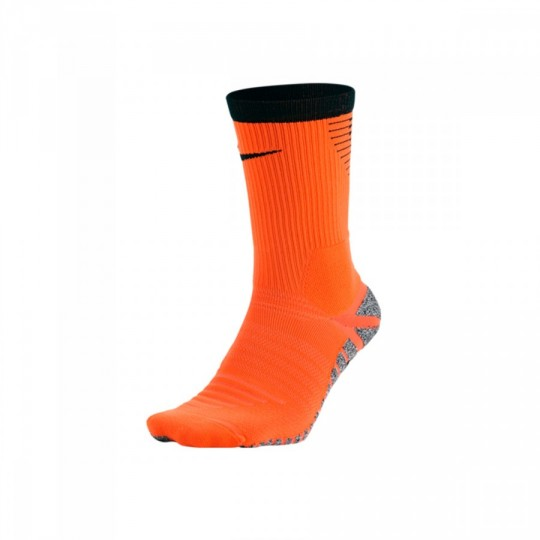 Calcetines  Nike GRIP Strike Crew Football Total orange-Black