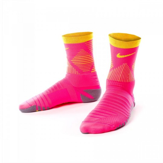 Chaussettes  Nike Strike Mercurial Hyper pink-Volt