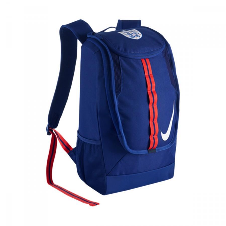 6a24fef79 Backpack Nike Allegiance England Shield Deep royal blue-White ...