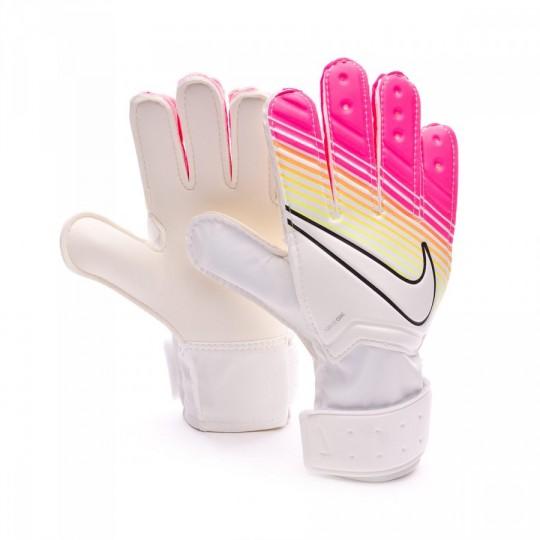 Guante  Nike jr Match White-Pink blast