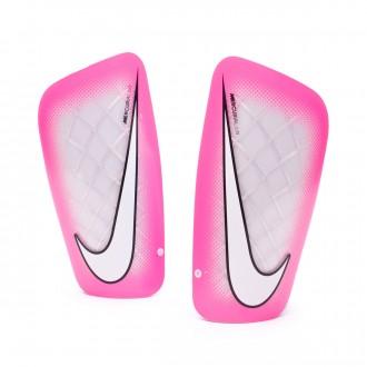 Espinillera  Nike Mercurial Lite White-Pink blast