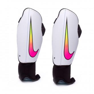 Espinillera  Nike Charge 2.0 White