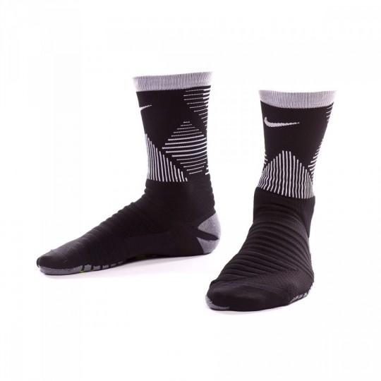 Meias  Nike Strike Mercurial Football Black-White