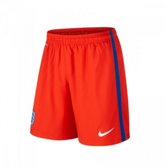 Pantalón corto  Nike Inglaterra Away Stadium 2016-2017 Challenge red-White