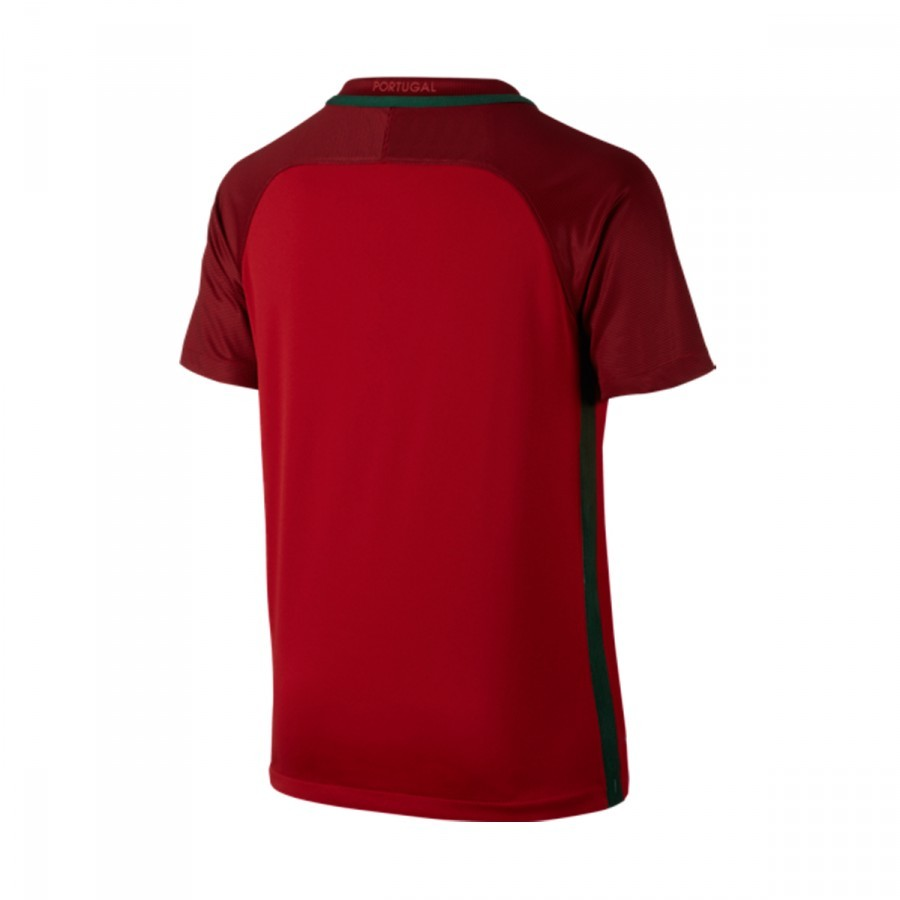 8ac583670c Camisola Nike Jr Portugal Principal Stadium Gym red-Deep garnet ...