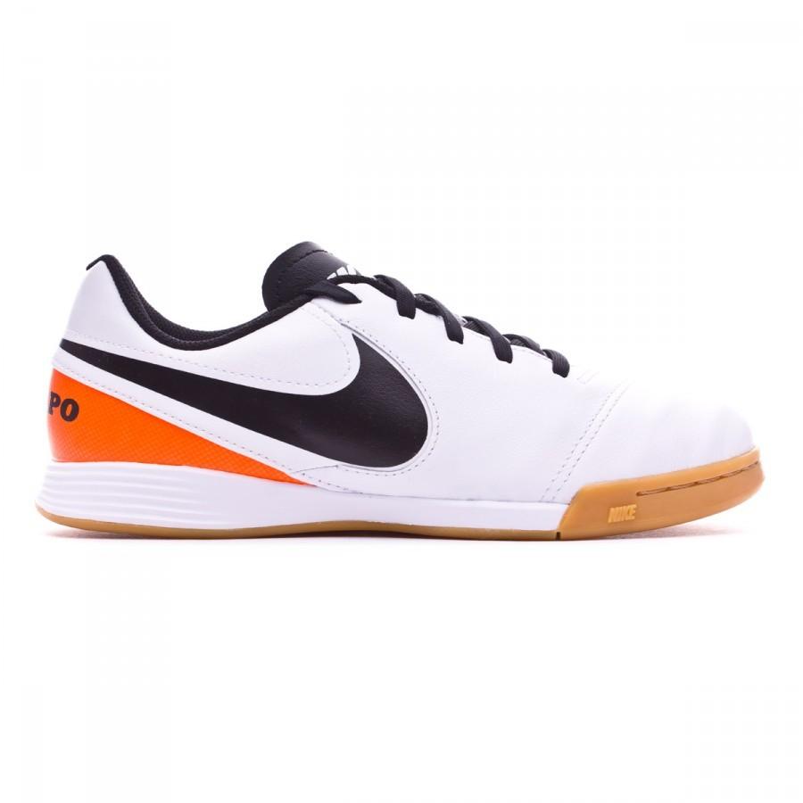 super popular f3ba4 d34fa Zapatilla Nike Tiempo Legend 6 IC Niño White-Total orange - Soloporteros es  ahora Fútbol Emotion