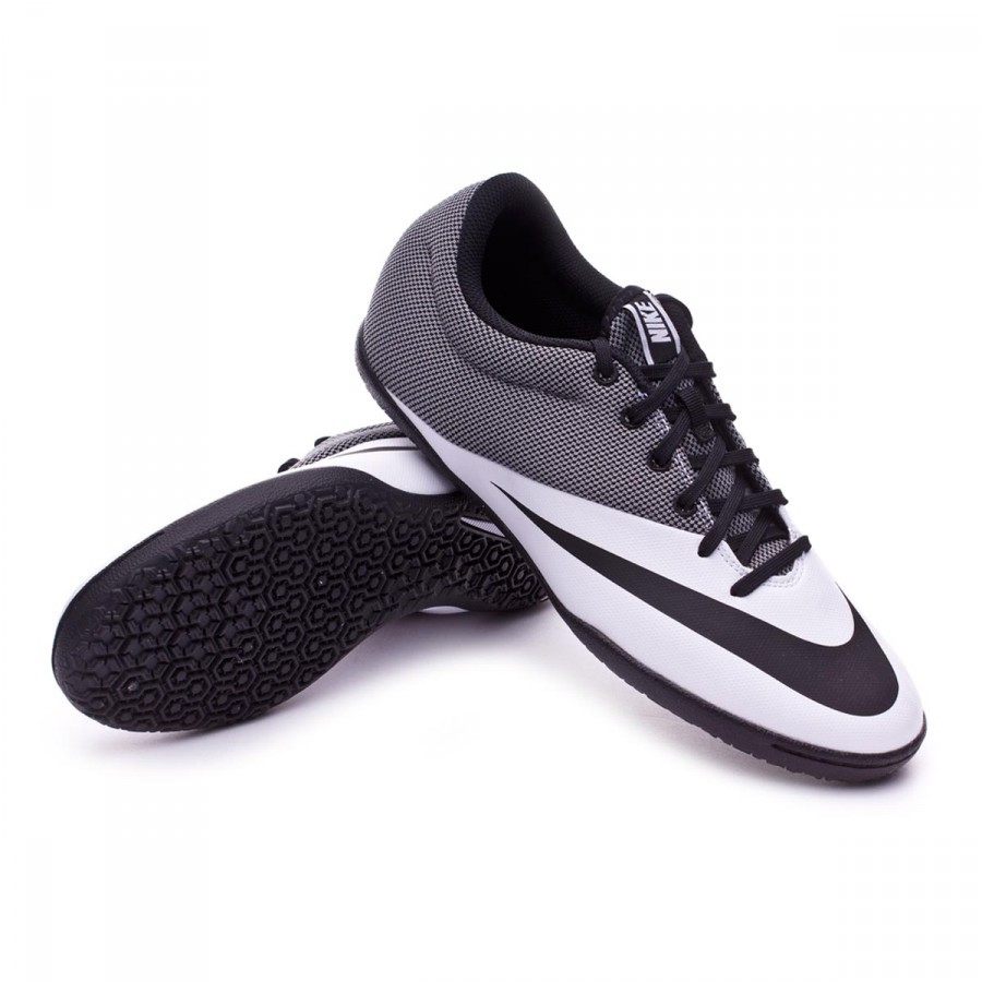 01fa5ec29fa3 Futsal Boot Nike MercurialX Pro IC White-Black - Football store ...