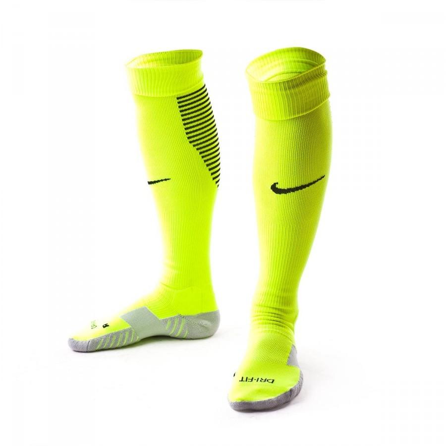 f7984d6040 Football Socks Nike Team Matchfit Core Over-The-Calf Volt-Black ...