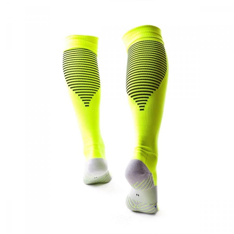 cfa2613762 Football Socks Nike Team Matchfit Core Over-The-Calf Volt-Black - Football  store Fútbol Emotion