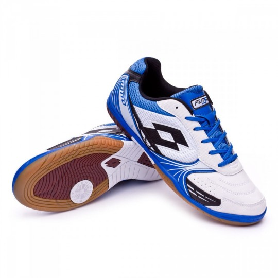 Sapatilha de Futsal  Lotto Tacto 500 ID White-Black