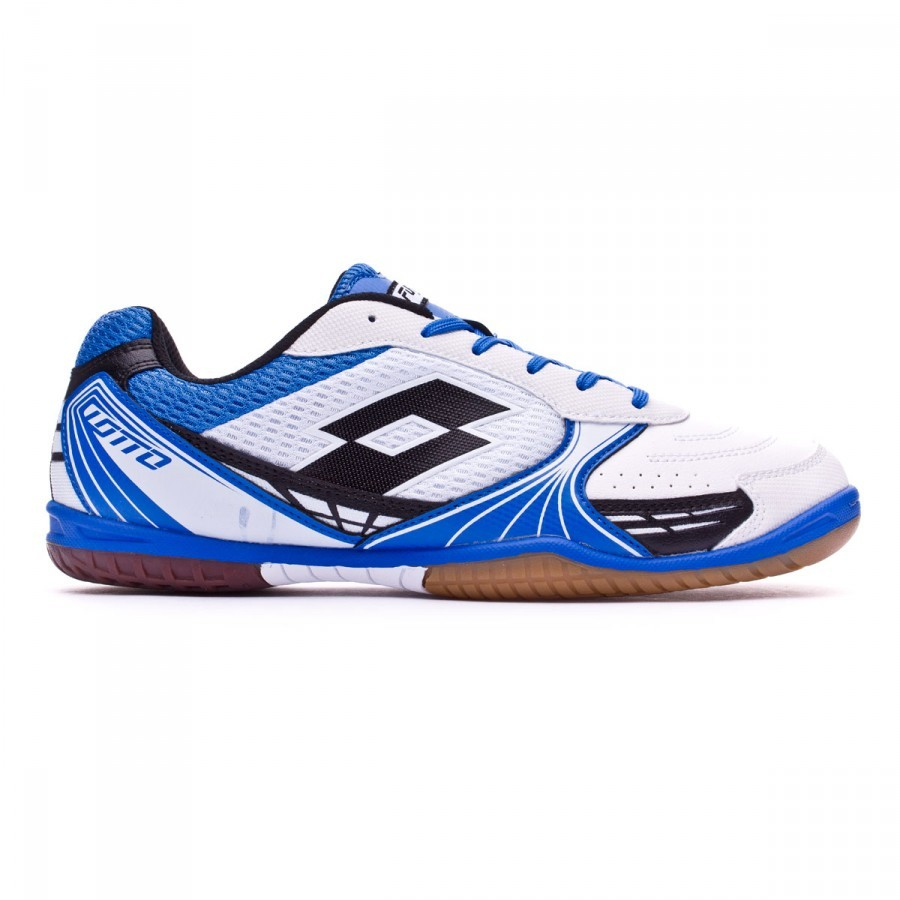 1252b863a5e2f Futsal Boot Lotto Tacto 500 ID White-Black - Football store Fútbol Emotion