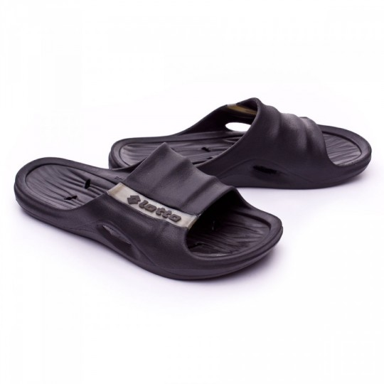 Chanclas  Lotto Wallis II Black-Titan Gravity