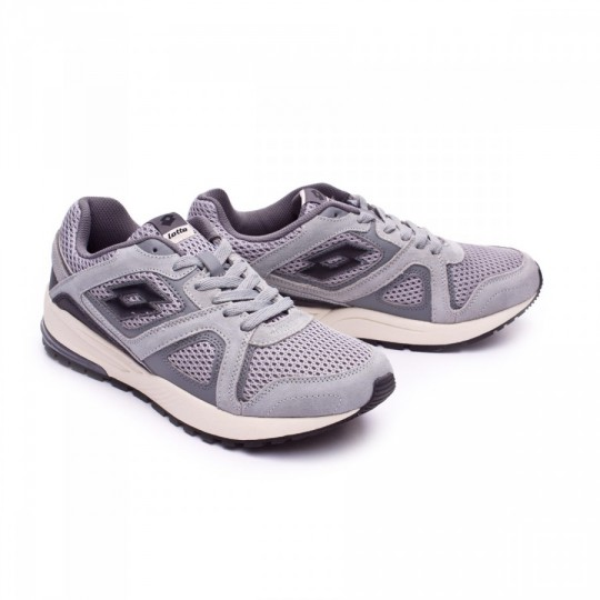 Zapatilla  Lotto Racer II AMF Grey opal-Black