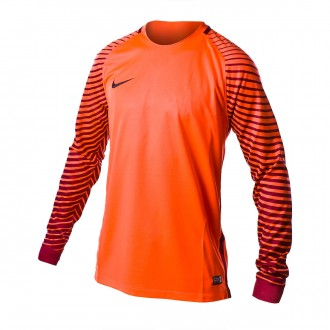 Playera Nike Gardien M/L Bright Crimson-Deep Garmet-Black