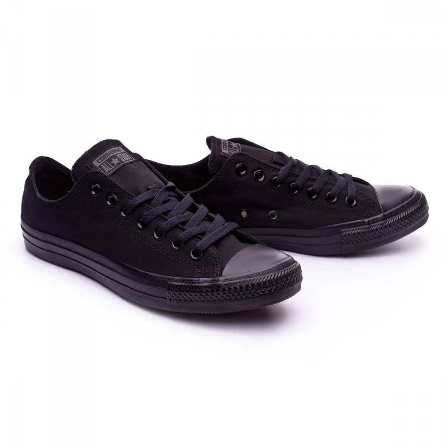 e94c41adb Tenis Converse Chuck Taylor All Star Ox Total black - Tienda de fútbol  Fútbol Emotion