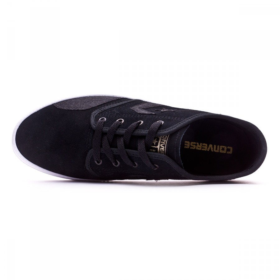 Trainers Converse Zakim Peppered Suede Black-Gold - Football store Fútbol  Emotion 2126612ae