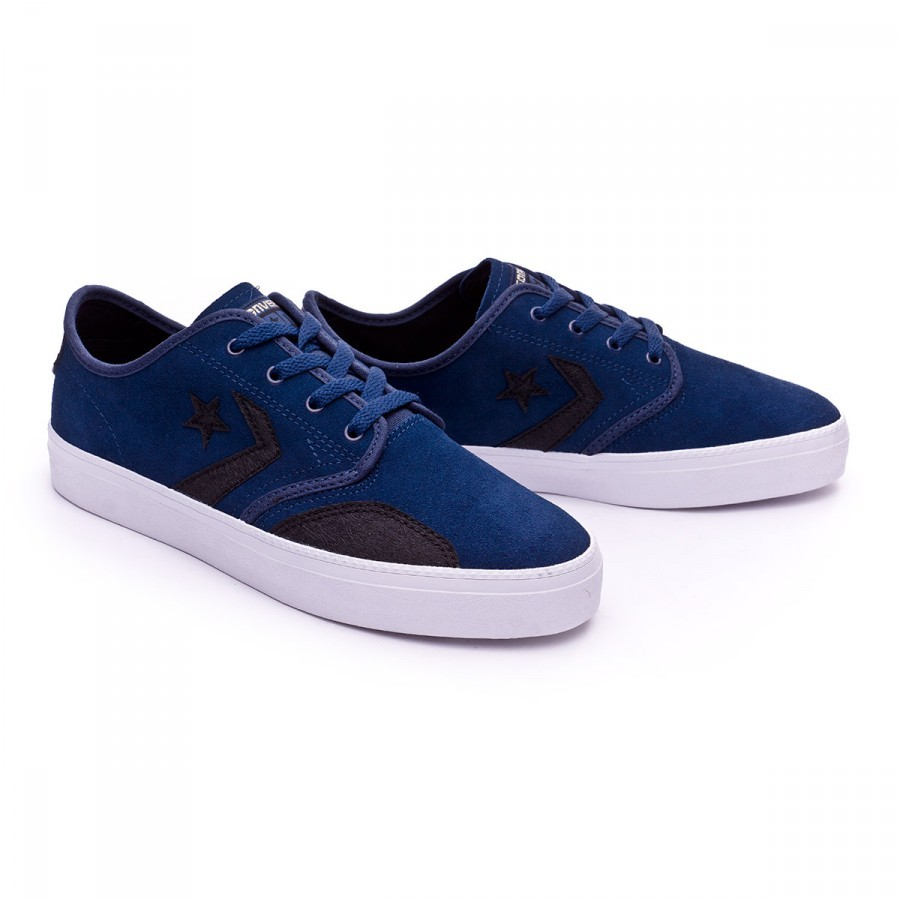 Trainers Converse Zakim Peppered Suede Navy-Black-Gold - Football store  Fútbol Emotion d3f821126
